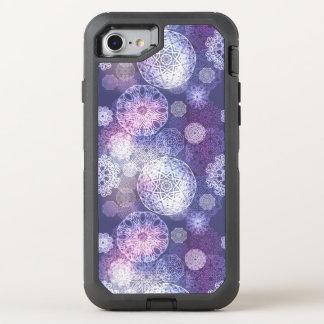 Capa Para iPhone 8/7 OtterBox Defender Teste padrão luxuoso floral da mandala
