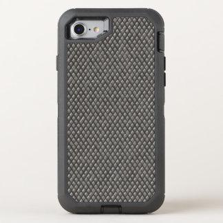 Capa Para iPhone 8/7 OtterBox Defender Teste padrão metálico do diamante