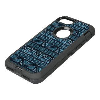 Capa Para iPhone 8/7 OtterBox Defender Teste padrão tribal de turquesa do caso de