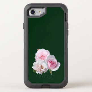 Capa Para iPhone 8/7 OtterBox Defender Três rosas cor-de-rosa