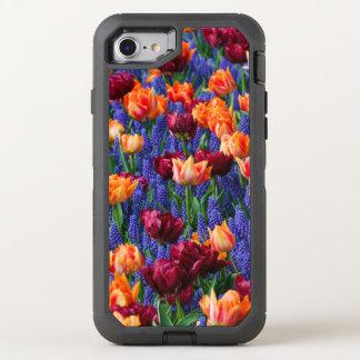 Capa Para iPhone 8/7 OtterBox Defender Tulipas