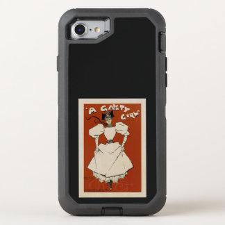 Capa Para iPhone 8/7 OtterBox Defender Uma menina da alegria
