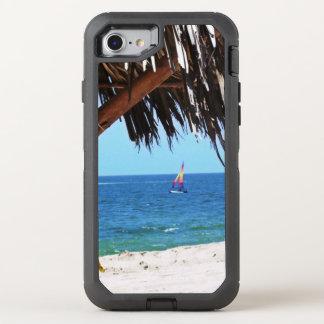 Capa Para iPhone 8/7 OtterBox Defender Veleiro colorido da praia tropical