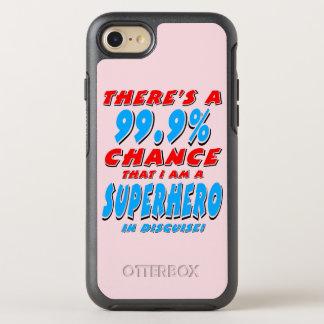 Capa Para iPhone 8/7 OtterBox Symmetry 99,9% Eu sou um SUPER-HERÓI (o preto)