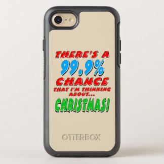 Capa Para iPhone 8/7 OtterBox Symmetry 99,9% NATAL (preto)