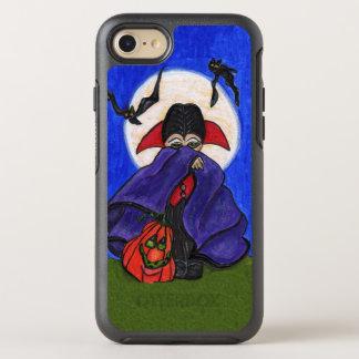 Capa Para iPhone 8/7 OtterBox Symmetry A abóbora roxa pequena bonito do cabo de Dracula