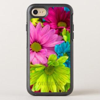 Capa Para iPhone 8/7 OtterBox Symmetry A aguarela bonito floresce o buquê