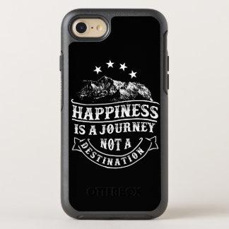 Capa Para iPhone 8/7 OtterBox Symmetry A felicidade é uma capa de telefone de Otterbox da