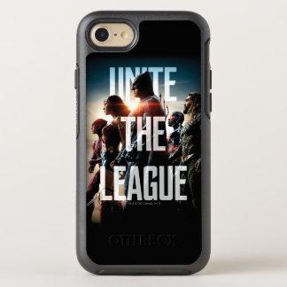 Capa Para iPhone 8/7 OtterBox Symmetry A liga de justiça   une a liga