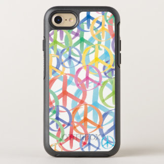 Capa Para iPhone 8/7 OtterBox Symmetry A paz assina dentro muitas cores