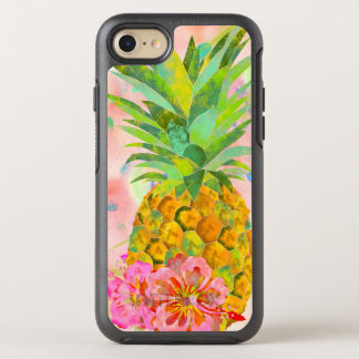 Capa Para iPhone 8/7 OtterBox Symmetry Abacaxi floral