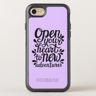 Capa Para iPhone 8/7 OtterBox Symmetry Abra seu coração às aventuras novas