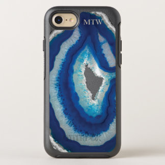 Capa Para iPhone 8/7 OtterBox Symmetry Ágata azul