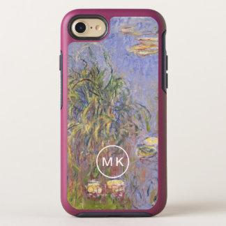 Capa Para iPhone 8/7 OtterBox Symmetry Água-Lírios, conjunto de grama