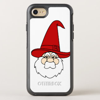 Capa Para iPhone 8/7 OtterBox Symmetry Alegria do divertimento dos feriados do papai noel
