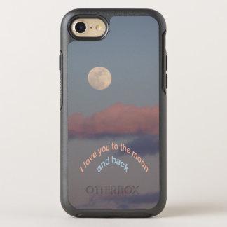 Capa Para iPhone 8/7 OtterBox Symmetry Amor da Lua cheia