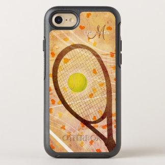 Capa Para iPhone 8/7 OtterBox Symmetry amor feminino do tênis dos corações monogrammed