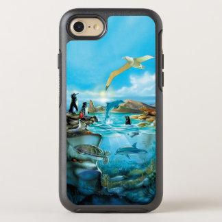 Capa Para iPhone 8/7 OtterBox Symmetry Animais de Galápagos