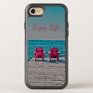 Capa Para iPhone 8/7 OtterBox Symmetry Aprecie a vida na casa de campo