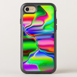 Capa Para iPhone 8/7 OtterBox Symmetry Arco-íris de derretimento