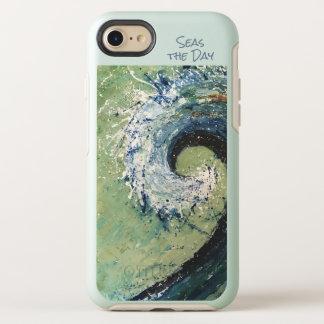 Capa Para iPhone 8/7 OtterBox Symmetry Arte abstracta litoral da onda da praia