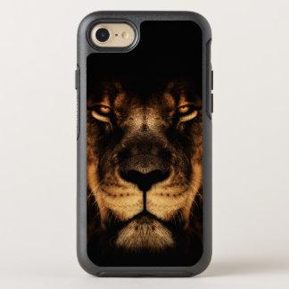 Capa Para iPhone 8/7 OtterBox Symmetry Arte africana da cara do leão