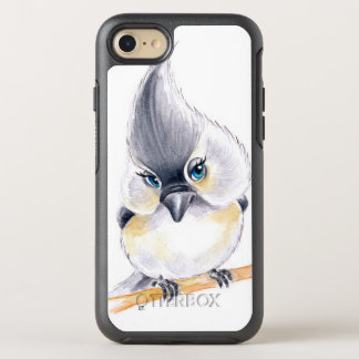 Capa Para iPhone 8/7 OtterBox Symmetry Arte bonito do Titmouse