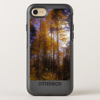 Capa Para iPhone 8/7 OtterBox Symmetry árvores altas na queda com a capa de telefone do