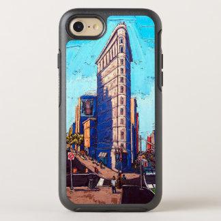 Capa Para iPhone 8/7 OtterBox Symmetry As capas de iphone da construção de Flatiron