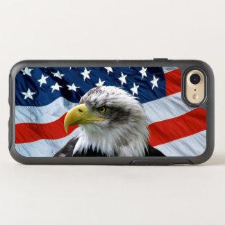 Capa Para iPhone 8/7 OtterBox Symmetry Bandeira americana da águia americana