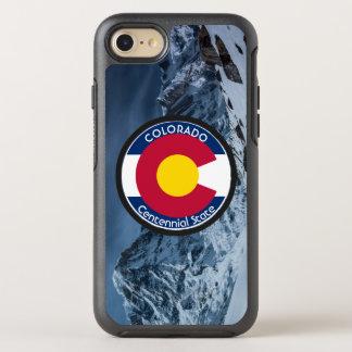 Capa Para iPhone 8/7 OtterBox Symmetry Bandeira da circular de Colorado