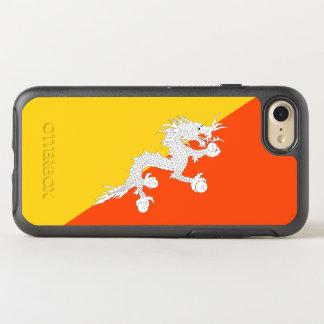 Capa Para iPhone 8/7 OtterBox Symmetry Bandeira de capas de iphone de Bhutan OtterBox