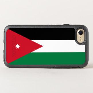 Capa Para iPhone 8/7 OtterBox Symmetry Bandeira de capas de iphone de Jordão OtterBox