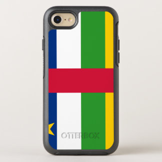 Capa Para iPhone 8/7 OtterBox Symmetry Bandeira de Central African Republic