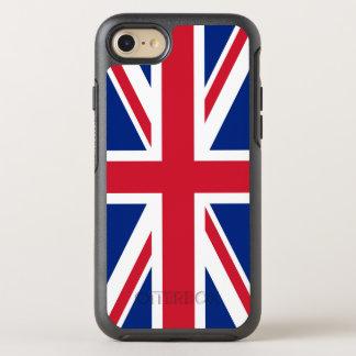 Capa Para iPhone 8/7 OtterBox Symmetry Bandeira de Reino Unido Reino Unido