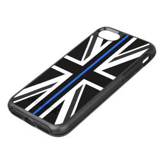 Capa Para iPhone 8/7 OtterBox Symmetry Bandeira fina de Blue Line Reino Unido