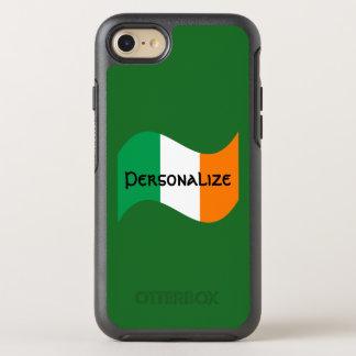 Capa Para iPhone 8/7 OtterBox Symmetry Bandeira irlandesa com pia batismal celta