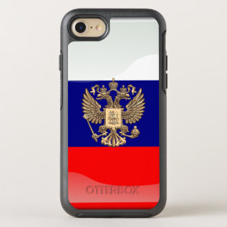 Capa Para iPhone 8/7 OtterBox Symmetry Bandeira lustrosa do russo
