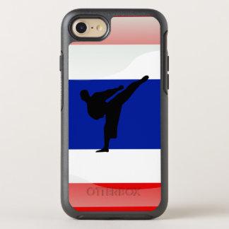 Capa Para iPhone 8/7 OtterBox Symmetry Bandeira lustrosa tailandesa