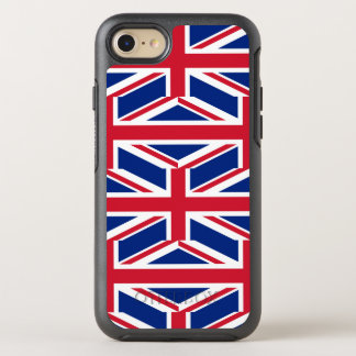 Capa Para iPhone 8/7 OtterBox Symmetry Bandeira nacional do Reino Unido Reino Unido,