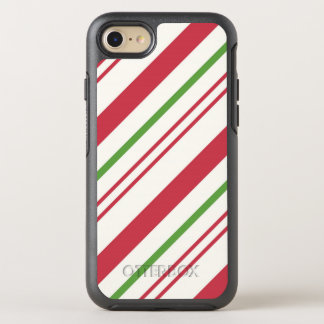 Capa Para iPhone 8/7 OtterBox Symmetry Bastão de doces do Natal