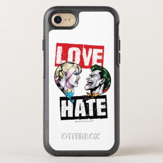 Capa Para iPhone 8/7 OtterBox Symmetry Batman | Harley Quinn & amor do palhaço/ódio