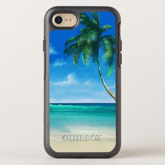 Capa Para iPhone 8/7 OtterBox Symmetry Beleza tropical do verão da praia