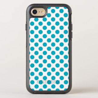 Capa Para iPhone 8/7 OtterBox Symmetry Bolinhas profundas do Aqua