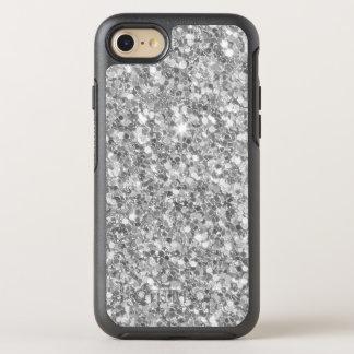 Capa Para iPhone 8/7 OtterBox Symmetry Brilho simples das cinzas e do branco