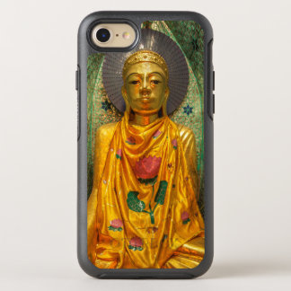 Capa Para iPhone 8/7 OtterBox Symmetry Buddha dourado no templo