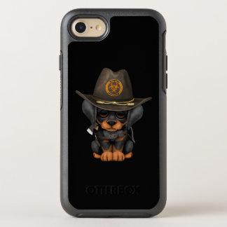Capa Para iPhone 8/7 OtterBox Symmetry Caçador bonito do zombi do filhote de cachorro do
