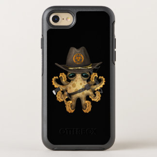 Capa Para iPhone 8/7 OtterBox Symmetry Caçador bonito do zombi do polvo do bebê
