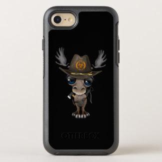 Capa Para iPhone 8/7 OtterBox Symmetry Caçador do zombi dos alces do bebê