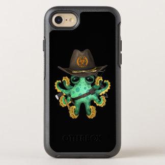 Capa Para iPhone 8/7 OtterBox Symmetry Caçador verde do zombi do polvo do bebê